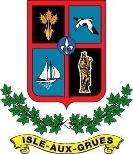 logo de la municipalité de l'Isle-aux-Grues